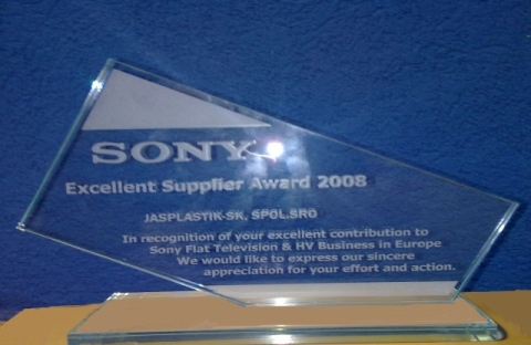 ocenenie sony 2008